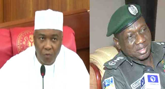 BREAKING: Saraki Describes Police Invitation As 'Mere Political Game'