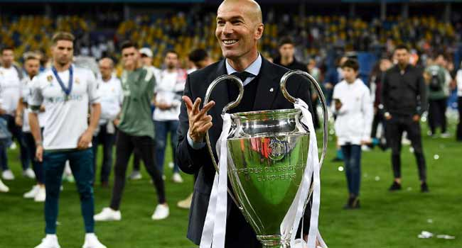 Thank You! Fans Tell Zidane After Quitting Real Madrid