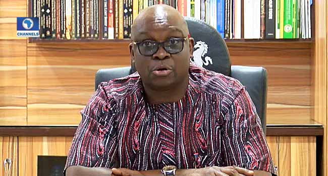 Fayose Writes EFCC, Vows To Make Himself Available For Probe