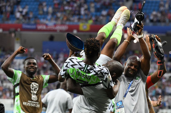 'God Bless Super Eagles': Osinbajo, Saraki, Others React To Nigeria's First Win
