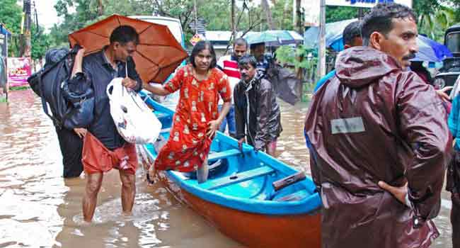 Flood Death Toll In India's Kerala Rises To 164