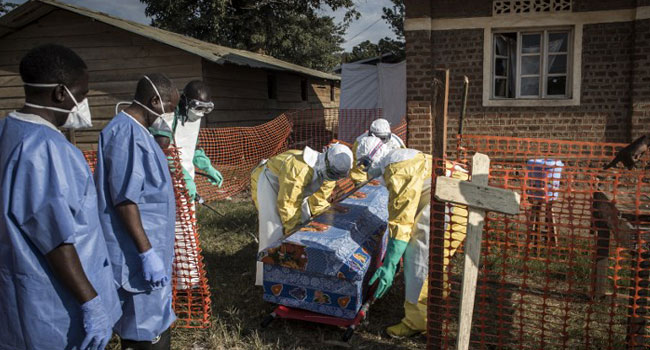 Efforts to contain Ebola epidemic in Congo are faltering, aid leader warns