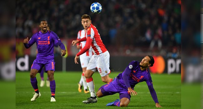 Bayern Munich Champions League Red Star Belgrade Group