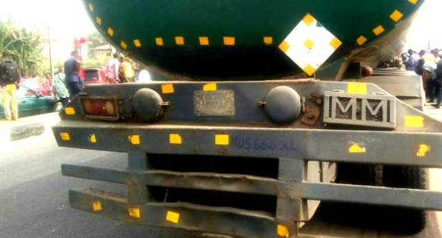 Fuel Tanker Crushes Motorcyclist To Death In Ondo