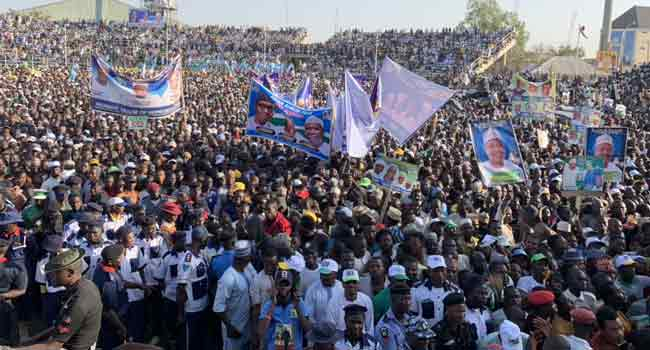 Kano Rally:  PDP Accuses APC Of Smuggling, Compromising Territorial Integrity