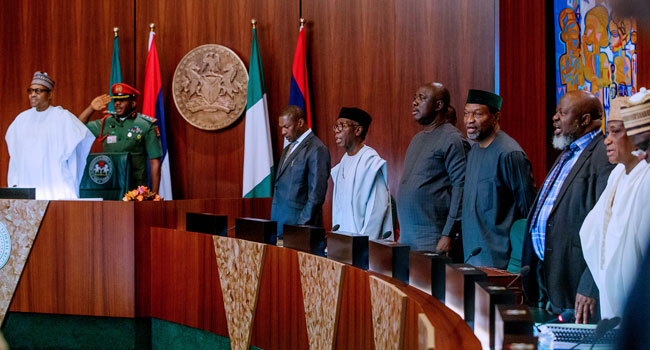 The Federal Executive Council (FEC) on Wednesday approved the revised 2021 to 2023 Medium Term Expenditure Framework and Fiscal Strategy Paper () at its virtual meeting. The meeting that was presided over by President Muhammadu Buhari at the Council Chamber of the State House approved a N12.66 trillion budget for each of the three fiscal […]