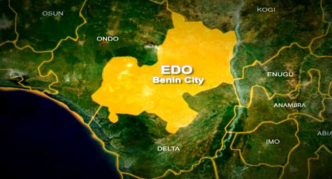 Edo State is a state in Southern Nigeria.