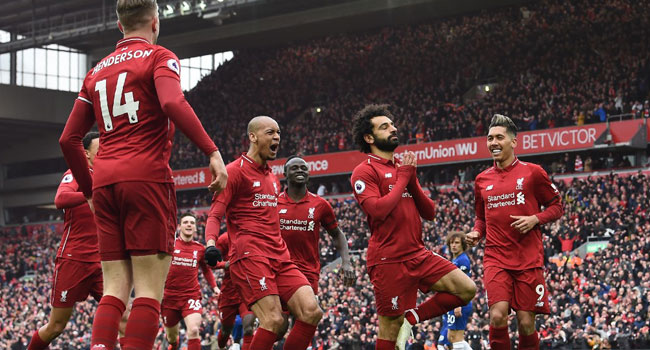 Liverpool Beat Chelsea To Reclaim Premier League Lead