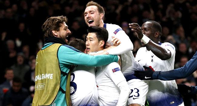 Son Strikes As Tottenham Beat City In Champions League Showdown