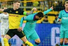 Borussia Dortmund Barcelona Champions League Group Lionel Messi