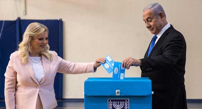 Prime Minister Benjamin Netanyahu Likud Benny Gantz Blue