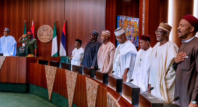 Federal Executive Council Fec President Muhammadu Buhari Abuja