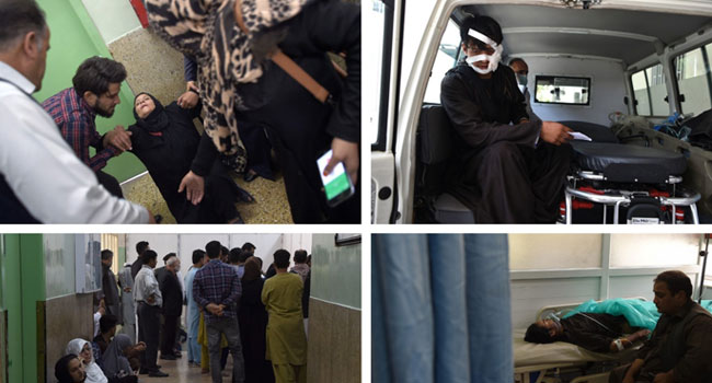 Afghanistan Kabul Ministry Interior Affairs Nearly Taliban Zabiullah