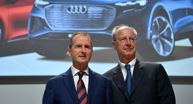Volkswagen Top Executives Charged With Market Manipulation