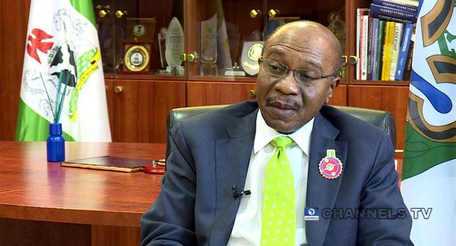 A file photo of Central Bank of Nigeria Governor, Godwin Emefiele.