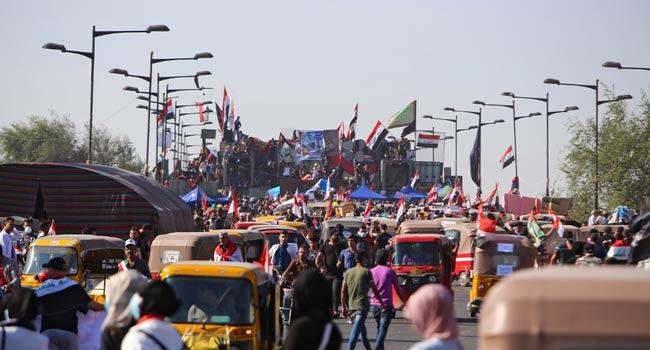 2 Protesters Killed, 25 Injured In Baghdad Unrest