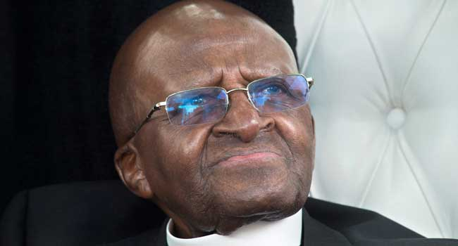 South Africa's Desmond Tutu Hospitalised Due To 'stubborn Infection'