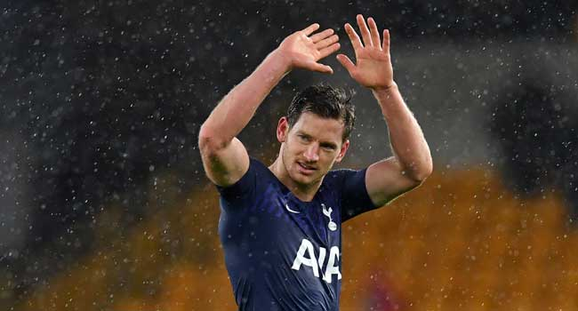 Tottenham Hotspur defender Jan Vertonghen on Monday in London confirmed his departure from the English Premier League (EPL) club after eight years. This has come in view of the Belgian international's contract expiration at the end of the 2019/2020 EPL season. The defender, who has made 315 appearances for Spurs in all competitions since arriving […]