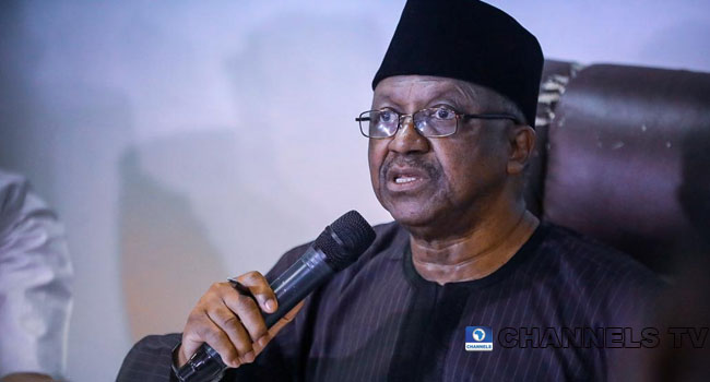 A file photo of Minister of Health, Osagie Ehanire.