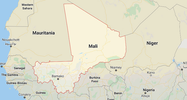 Mali is the eighth-largest country in Africa.
