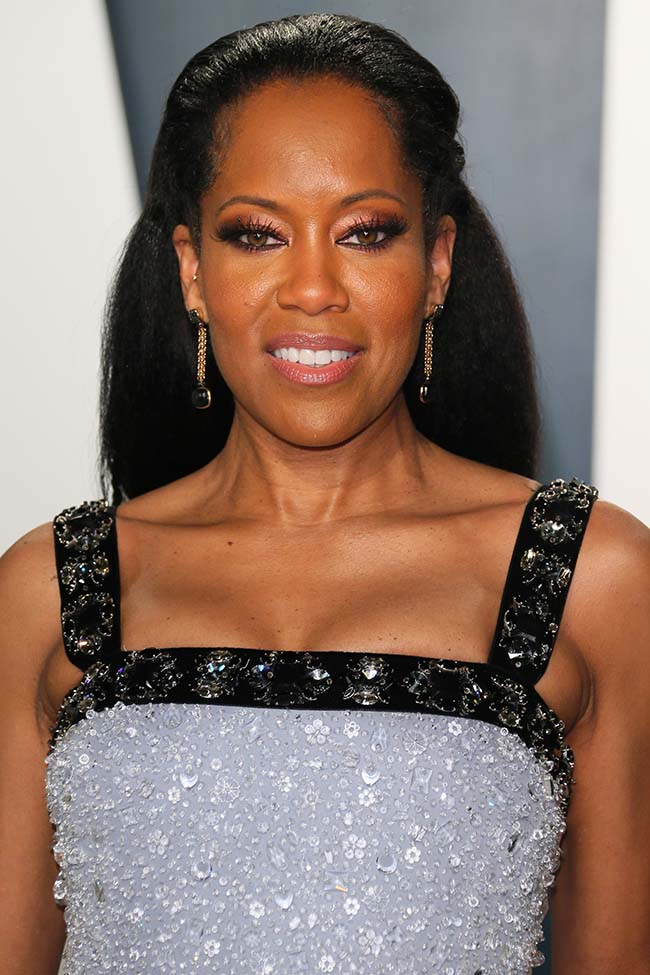US actress Regina King attends the 2020 Vanity Fair Oscar Party following the 92nd annual Oscars at The Wallis Annenberg Center for the Performing Arts in Beverly Hills on February 9, 2020. (Photo by Jean-Baptiste Lacroix / AFP)