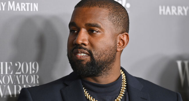 In this file photo US rapper Kanye West attends the WSJ Magazine 2019 Innovator Awards at MOMA on November 6, 2019 in New York City. Angela Weiss / AFP