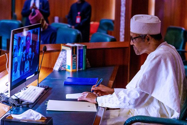 Buhari Governors2