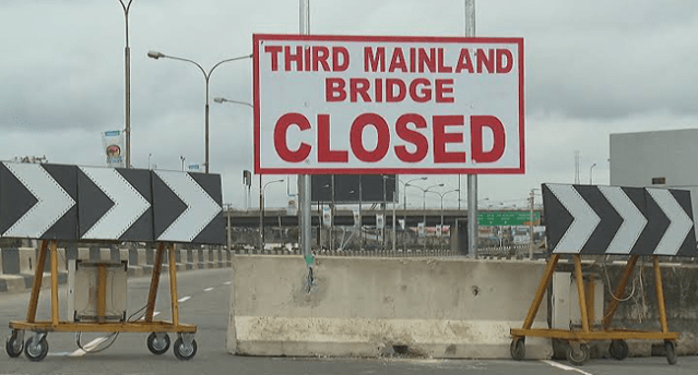 The Third Mainland Bridge was closed on July 24, 2020, for six months.