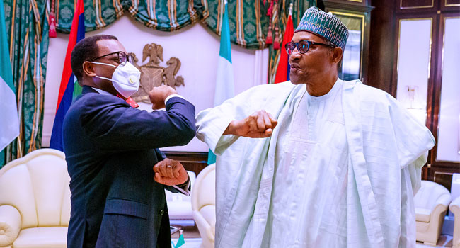 Adesina Visits Buhari