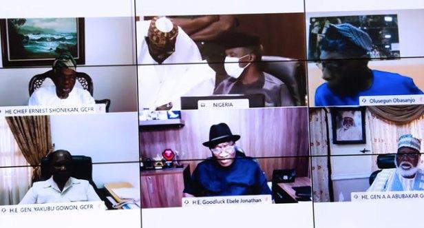 Buhari Ex Presidents