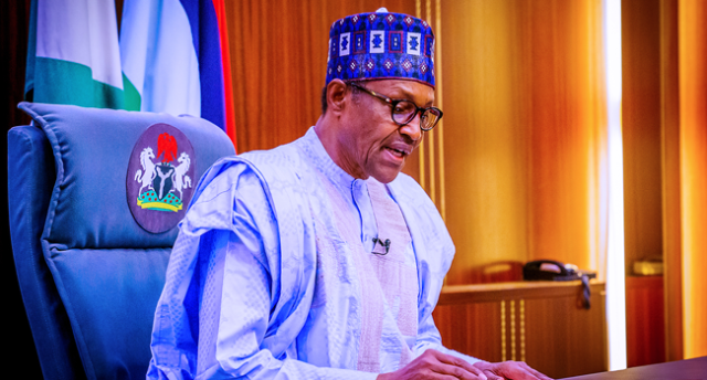 President Muhammadu Buhari addressed the nation on the occasion of the country's 60th independence anniversary on October 1, 2020.