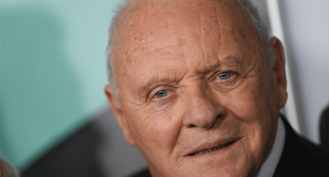 "In this file photo taken on November 18, 2019 Welsh actor Anthony Hopkins attends the AFI FEST gala screening of ""The Two Popes"" at TCL Chinese Theatre in Hollywood. Anthony Hopkins won the award for best actor at the Oscars on April 25, 2021 for his role in ""The Father"". VALERIE MACON / AFP"
