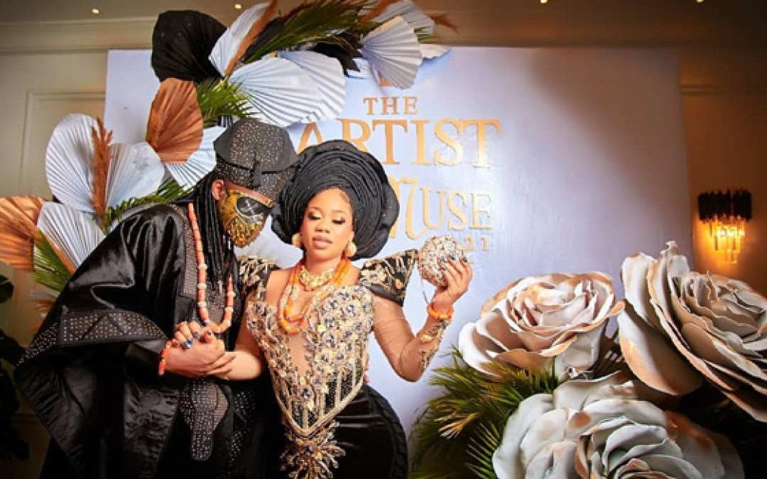 #TheArtistAndHisMuse21: Top 10 Looks From Toyin Lawani And Segun's Wedding