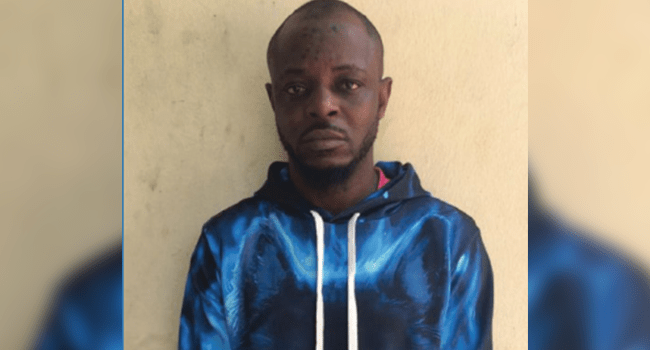 A photo of Vincent Chubuzo sent by DCP Kyari to Hushpuppi. Credit: US Department of Justice.