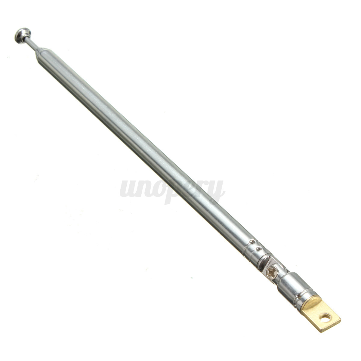 1pcs Replacement 60cm 6 Sections Telescopic Antenna Aerial
