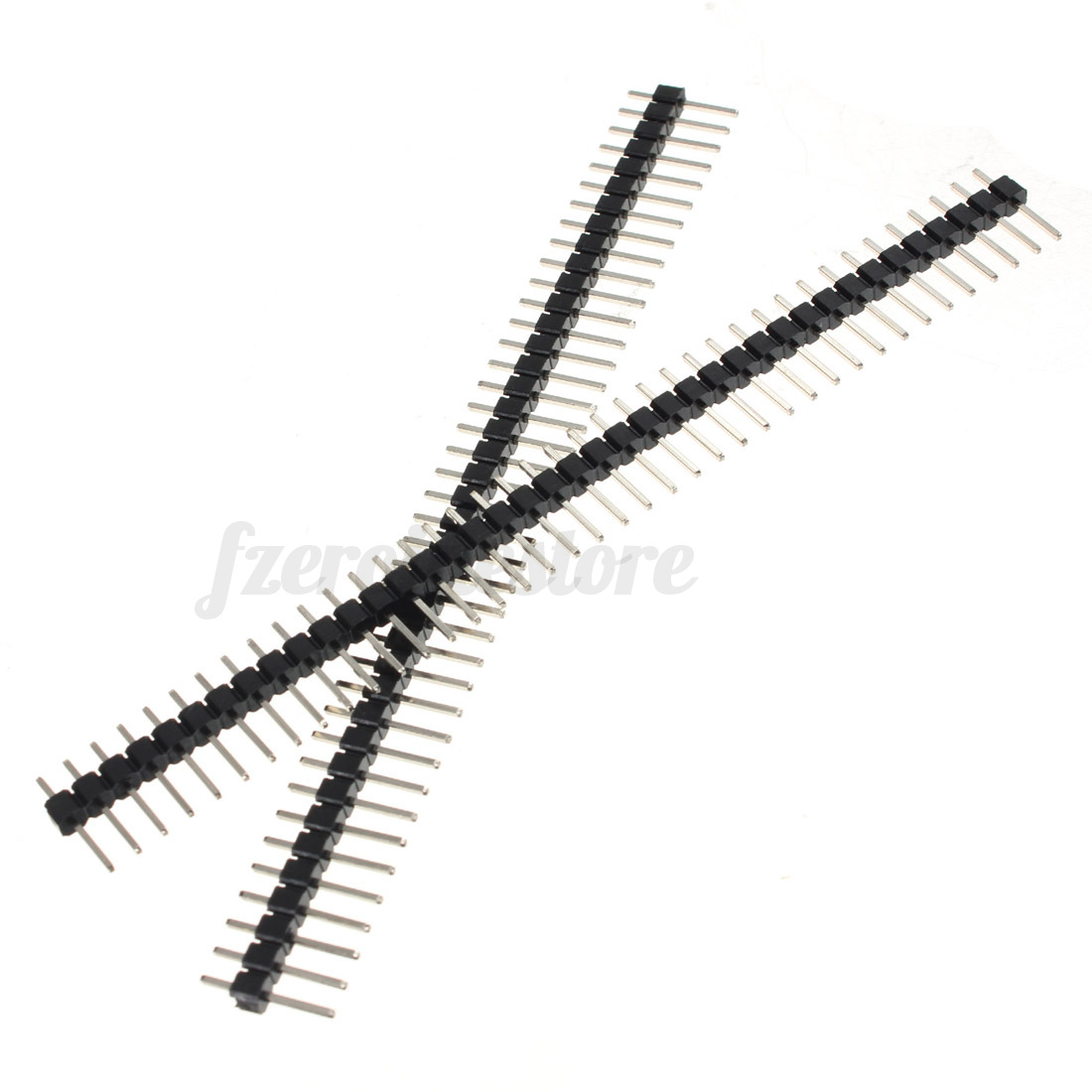 10pcs 40pin Single Male Pin Header Row Straight Strip