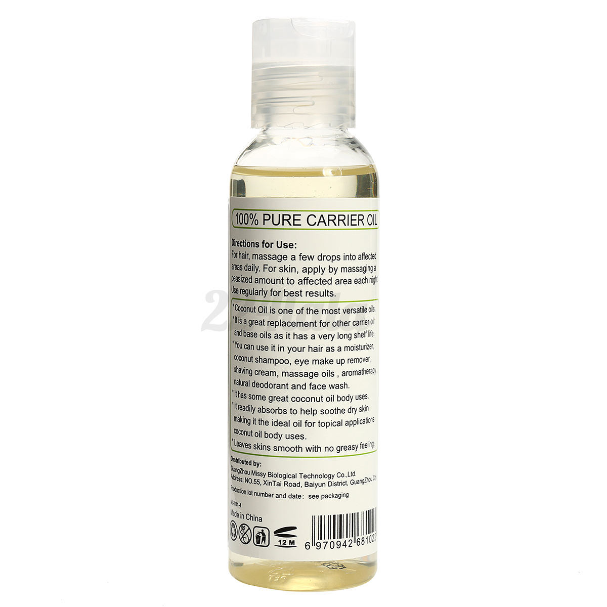 100 Pure Cold Pressed Castor Oil For Hair Growth Skin