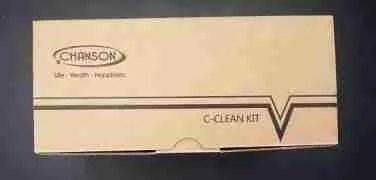 alkaline water ionizer c-clean kit chanson