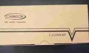 alkaline water ionizer c-clean kit chanson