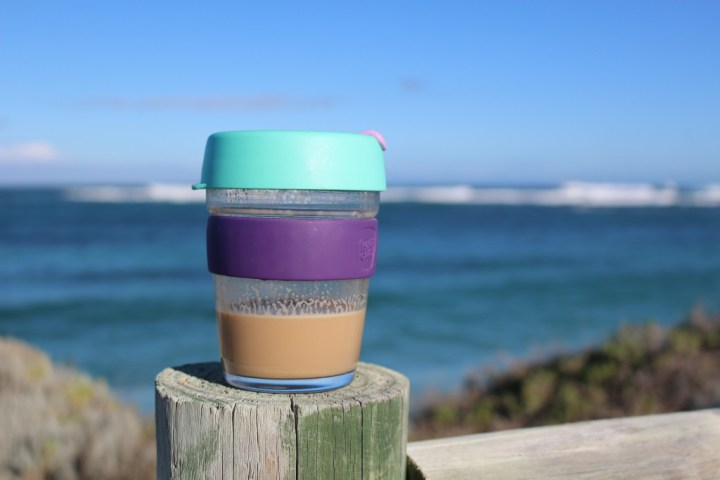 My beloved KeepCup. Customize your colors and use them forever.