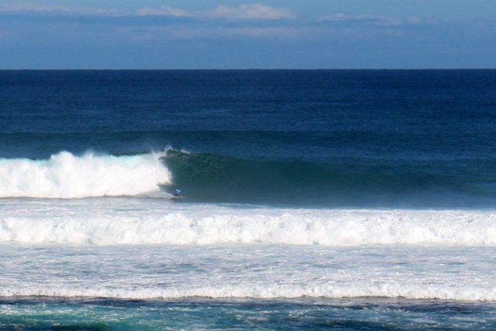 Jay Davies at Surfers Point