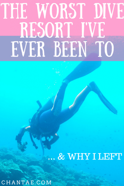 Not all scuba dive resorts are created equal. Some are dirty, disorganized, and downright unsafe. Click to read about the worst one I've ever been to in Bali and why I left.