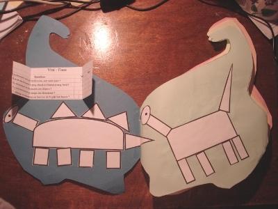 lapbook dinosaures