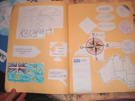 Lapbook Australie et Aborigène