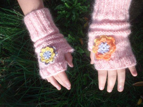 Tricoter des mitaines enfants