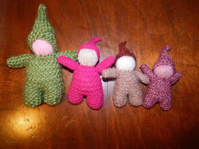 gnome tricoté