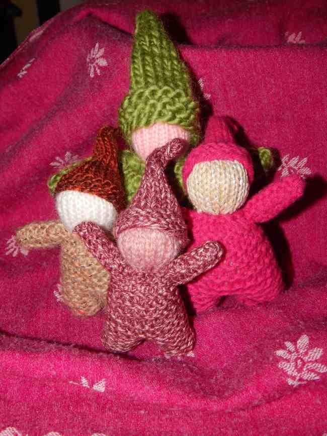 Le tutoriel du mignon petit gnome tricoté