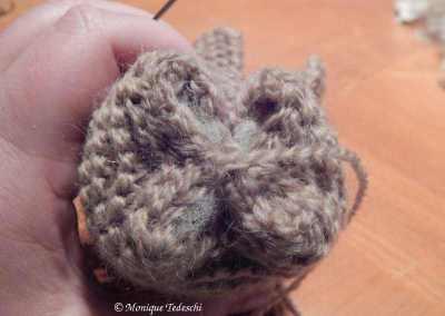 lapin tricoté