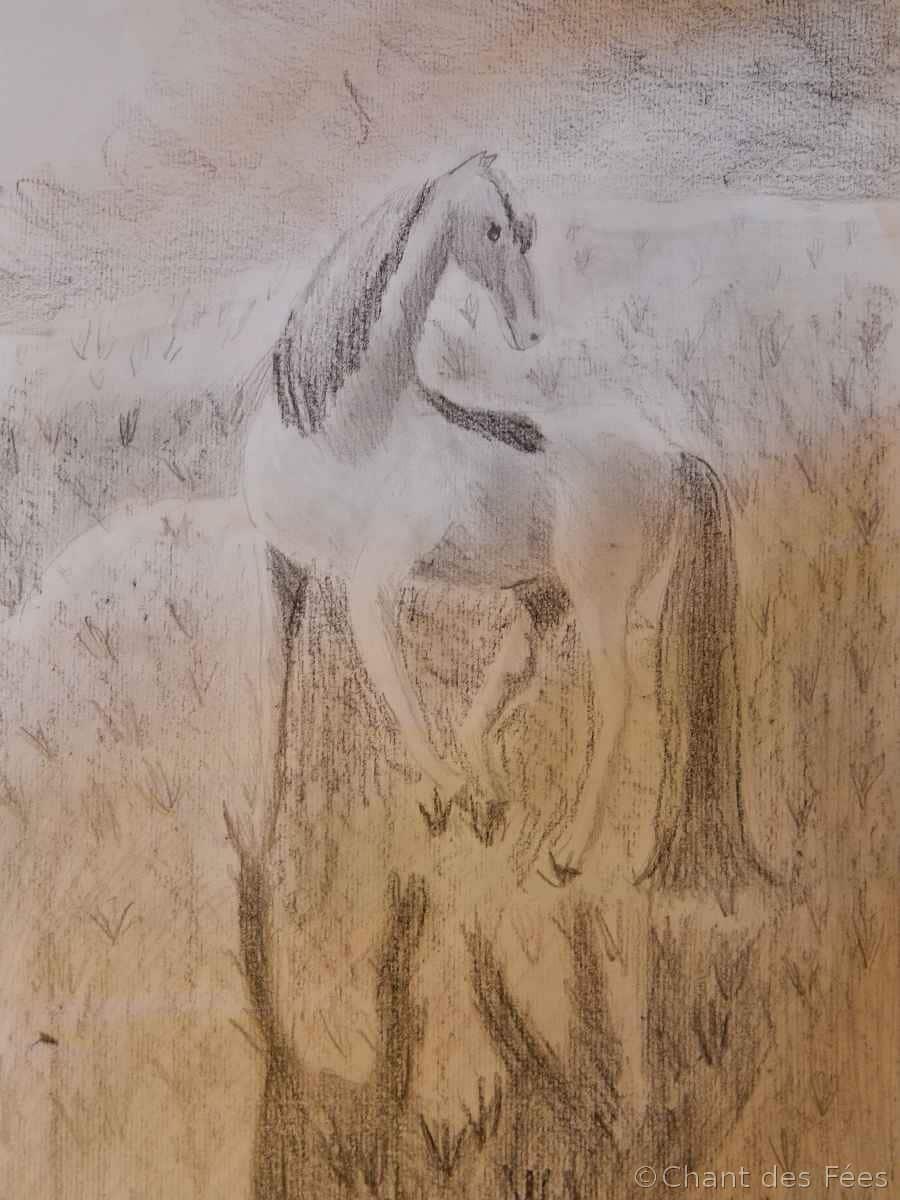 Le cheval de Gwendolyne