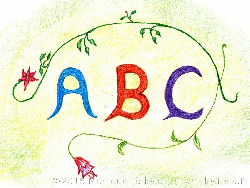 alphabet d'inspiration Waldorf-Steiner